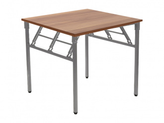 ALB NY A024156 összecsukható asztal fekete vázzal (160 cm